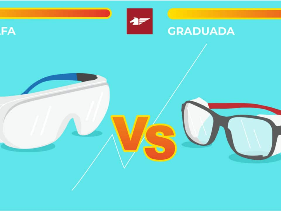 Sobregafas o gafa seguridad Graduada